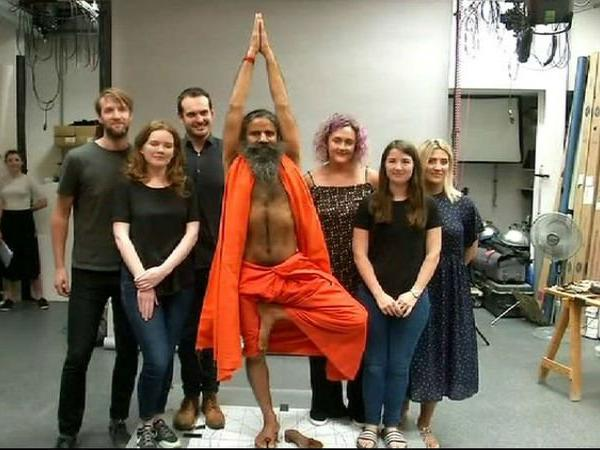Ramdev's statue of Vrikshasana to be seen at London Madame Tussauds