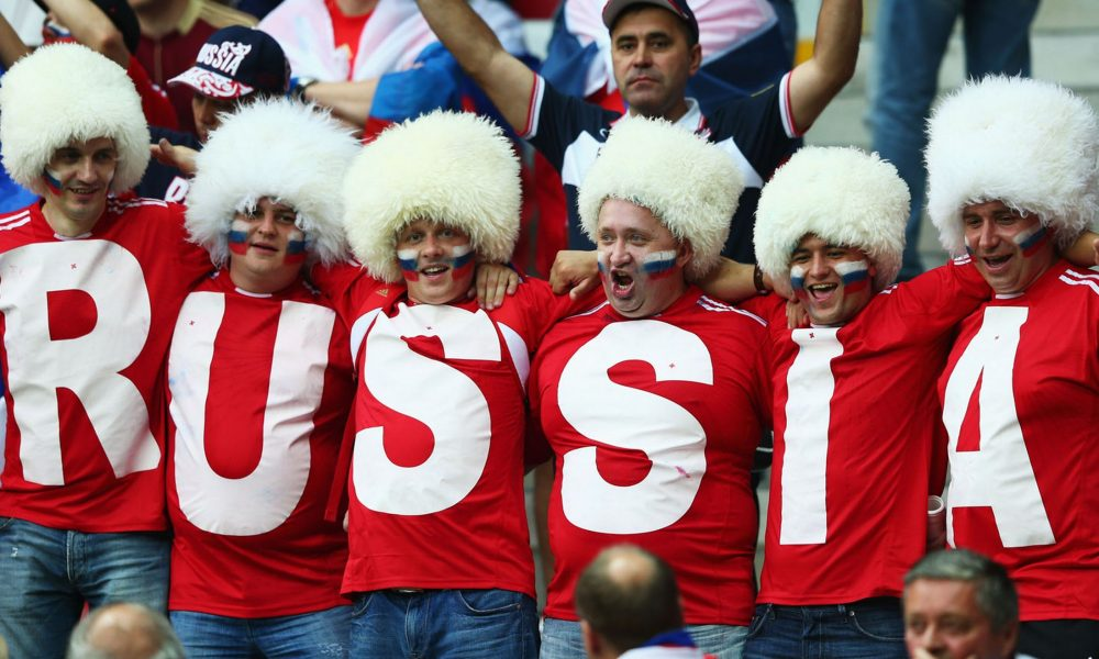 What a football fan shouldn't do in Russia