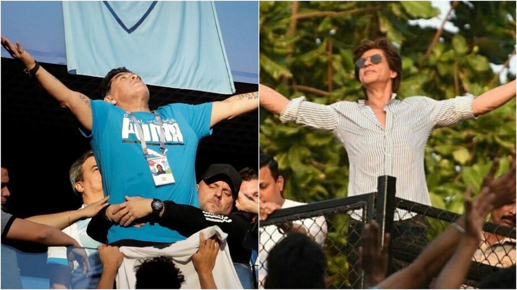 FIFA, World Cup, 2018, Argentina, Nigeria, Maradona, SRK, Shah Rukh Khan, NewsMobile, Mobile News, Entertainment, India