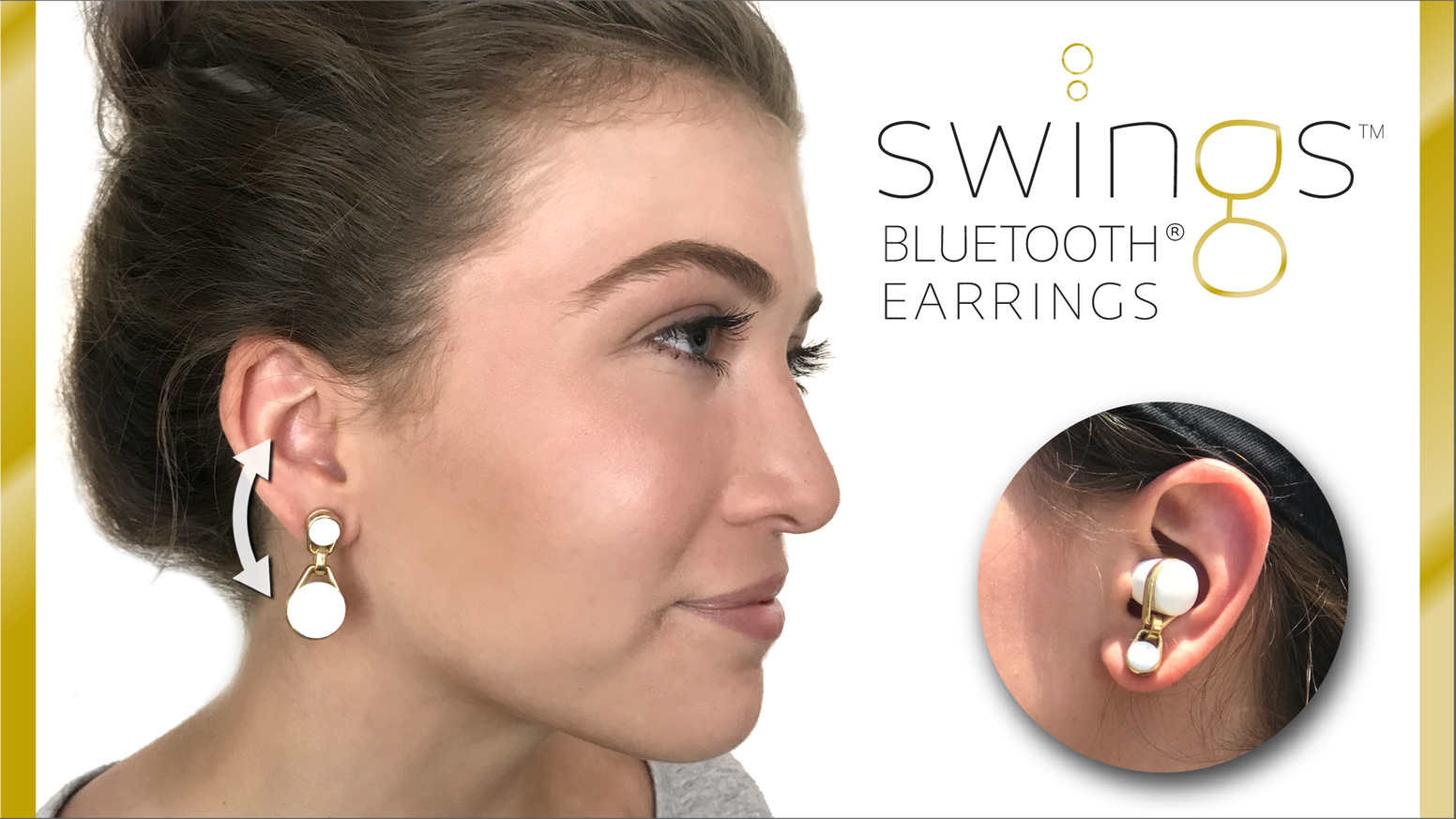 Bluetooth, earring, stud, Bluetooth earring, women, Scandi Electronics, Swings, news, mobile, startup,