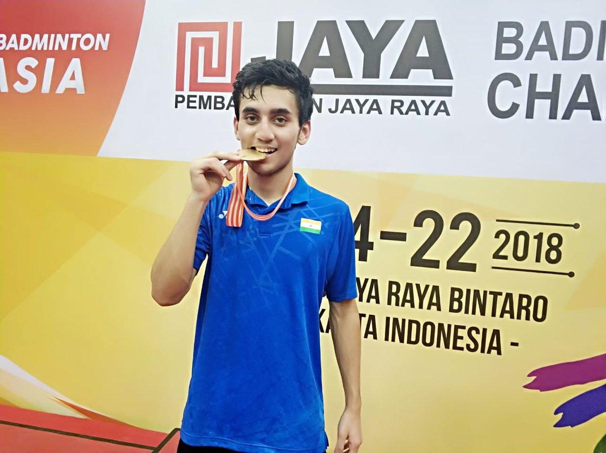 Lakshaya Sen, Kunlavut Vitidsaran, Badminton Asia Junior Championship, Badminton, Jakarta, Sports News, victory