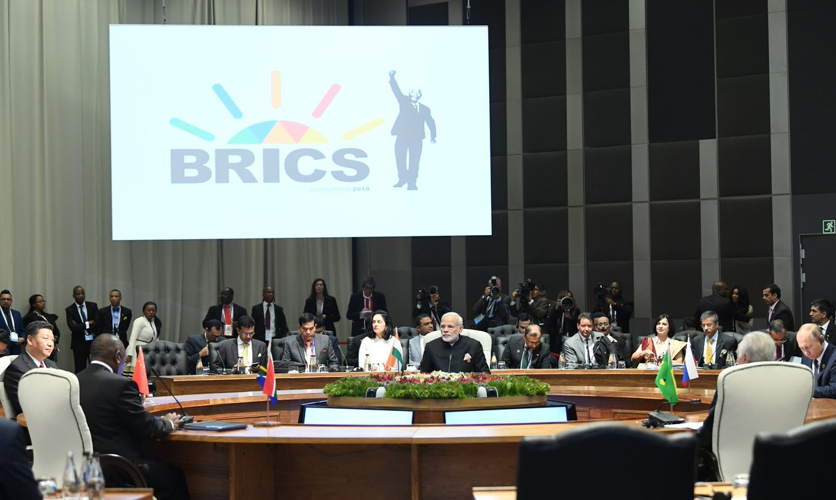 BRICS Summit, PM Modi, reaffirms, support, African nations, South Africa, Newsmobile, Mobile news, India