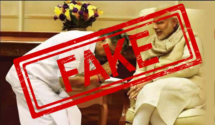 Tamil Nadu, Deputy, Chief Minister, O Panneerselvam, PM Modi, Prime Minister, Narendra Modi, NewsMobile, Fact Check, Fact Checker, Fake News, Fake Picture, Mobile News, India