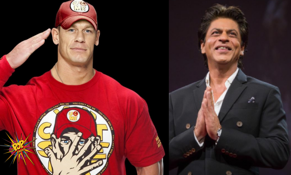 Shah Rukh Khan and John Cena spread love on Twitter