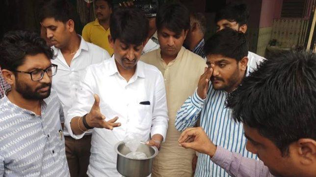 Hardik Patel, Jignesh Mevani, Alpesh Thakor, house raid, bootleggers, alcohol raid, Gujarat, Gandhinagar,