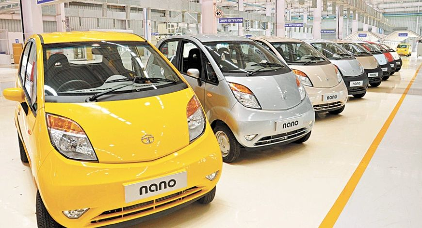 End, road, TATA, Nano, one unit, produced , June, Production, Gujarat, NewsMobile, Mobile News, India, Auto, Business
