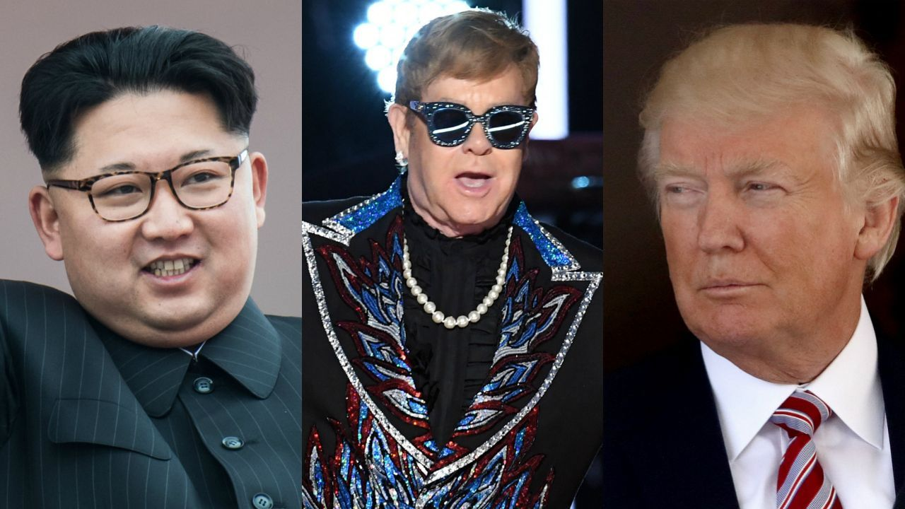Rocket Man, North Korea, Kim Jong-un, United States, Donald Trump, Elton John, Mike Pompeo, Montana, US, Philippines, Singapore,