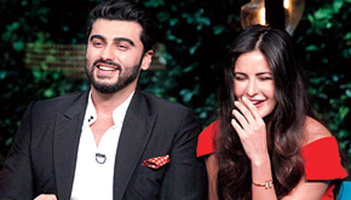 Arjun Kapoor's pre-birthday present for Katrina Kaif will leave you hysterical