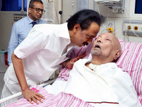 Karunanidhi, health, condition, declines, Kauvery Hospital, Chennai, Former, Chief Minister, Tamil Nadu, Newsmobile, Mobile News, India