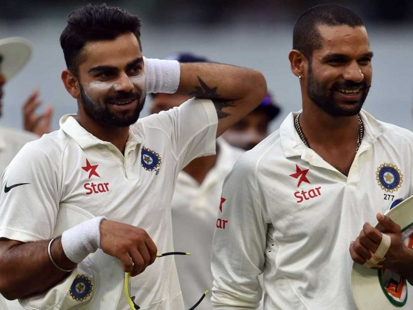 Virat Kohli, Shikhar Dhawan, Cricket, Test, England, BCCI, NewsMobile, Mobile News, India, Sports