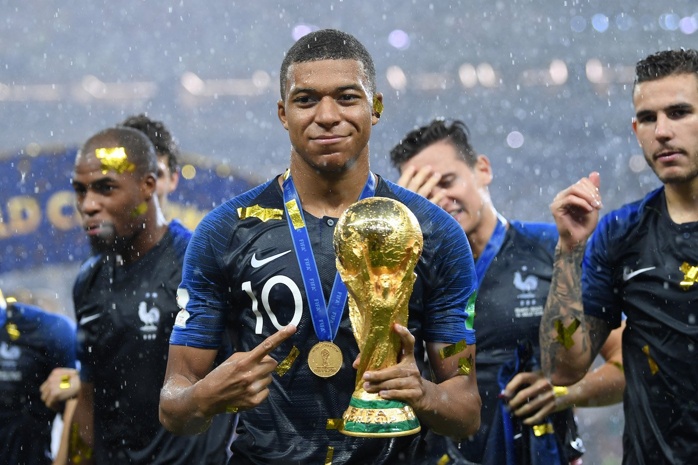 Mbappe, France, FIFA world cup 2018, Croatia, Ronaldo, Paris Saint-Germain, Footballing sensation, Pele, Brazil, Argentina, Emmanuel Macaron, French president, India,