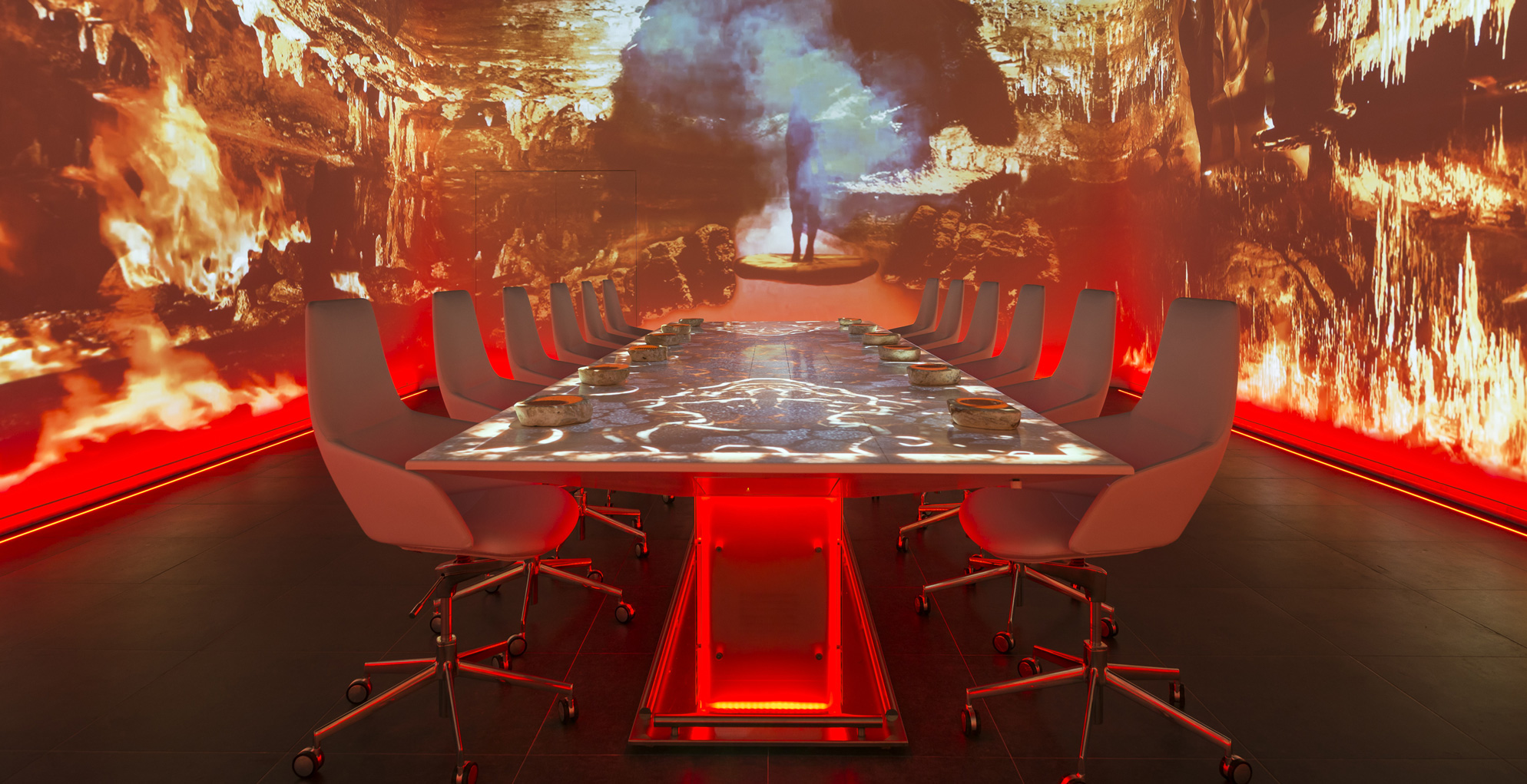 How about a movie with dinner at the world's most expensive restaurant?