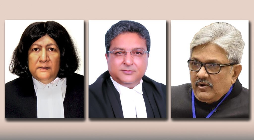 Justice, Indira Banerjee, Vineet Saran, KM Joseph, Supreme Court, Judge, NewsMobile, Mobile News, India, Appointment, Sworn in