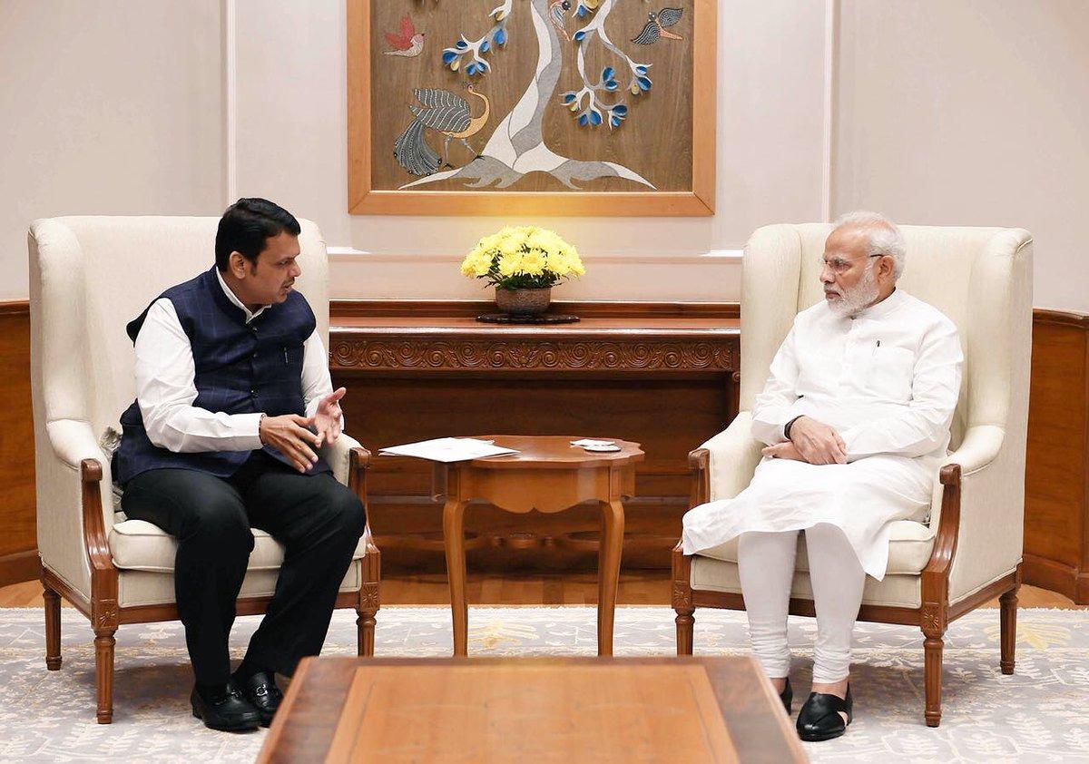 Prime Minister, Narendra Modi, Maharashtra, Chief Minister, Devendra Fadnavis, Maratha, Reservation, NewsMobile, Mobile News, India, New Delhi