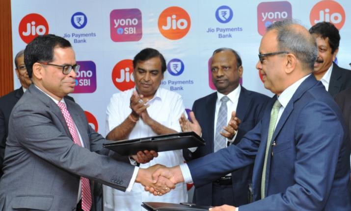 Reliance, Jio, SBI, join hands, enhance, digital banking, NewsMobile, Mobile News, India, Business, Banking