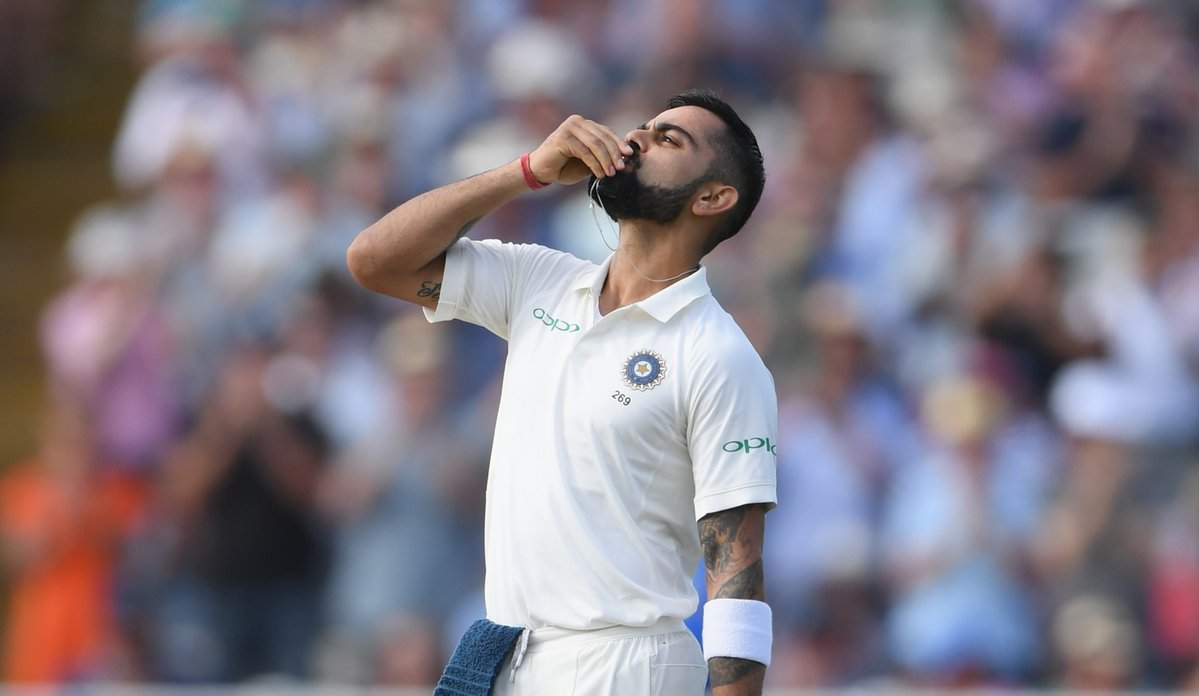 Virat Kohli, dedicate, ton, wife, Anushka Sharma, Sports, Cricket, England, NewsMobile, Mobile News, India