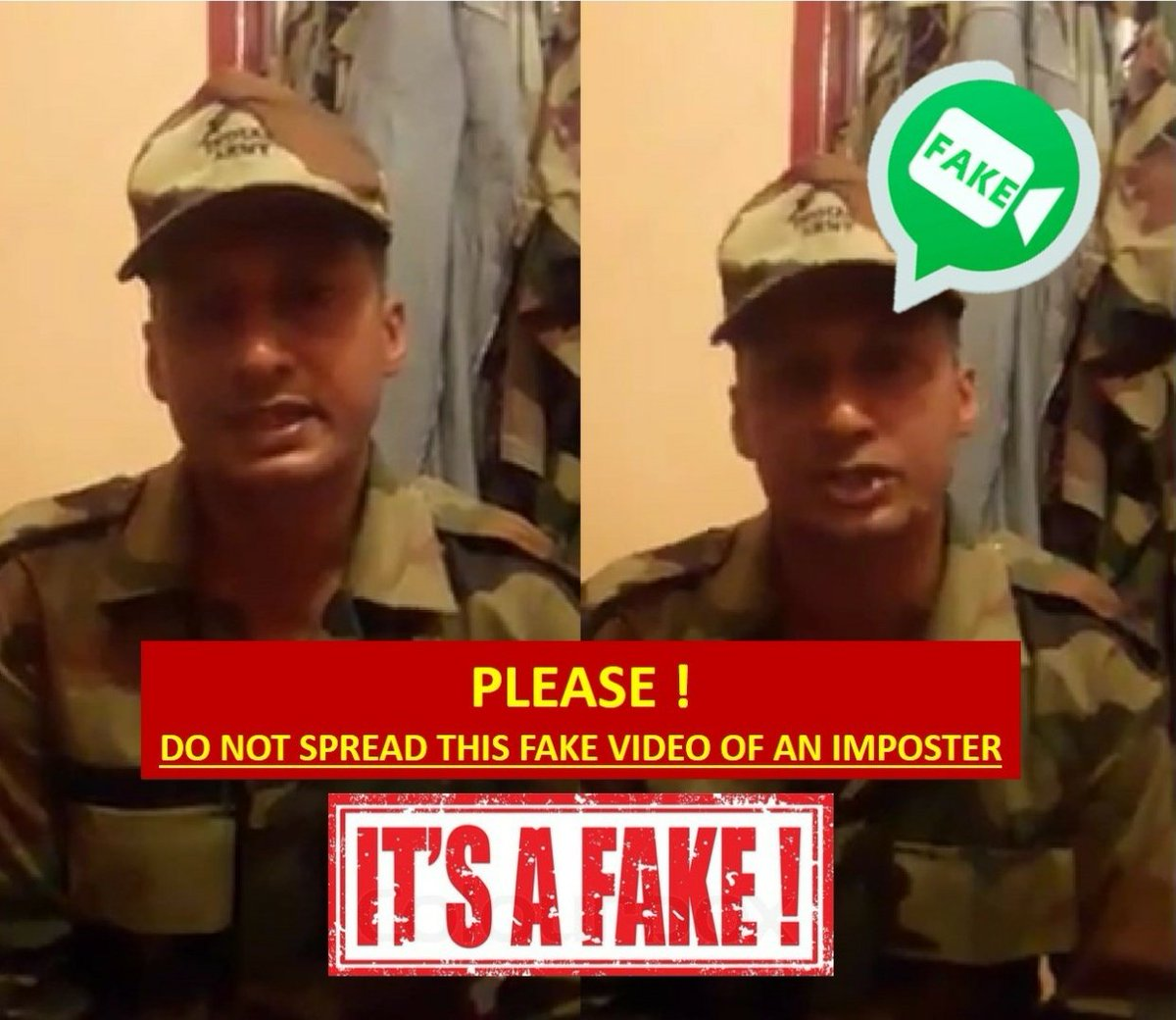 Beware, fake news, Kerala, flood, impostor, Army, uniform, spread, disinformation, NM Fact Checker, Fact Check, NewsMobile, Mobile News, India