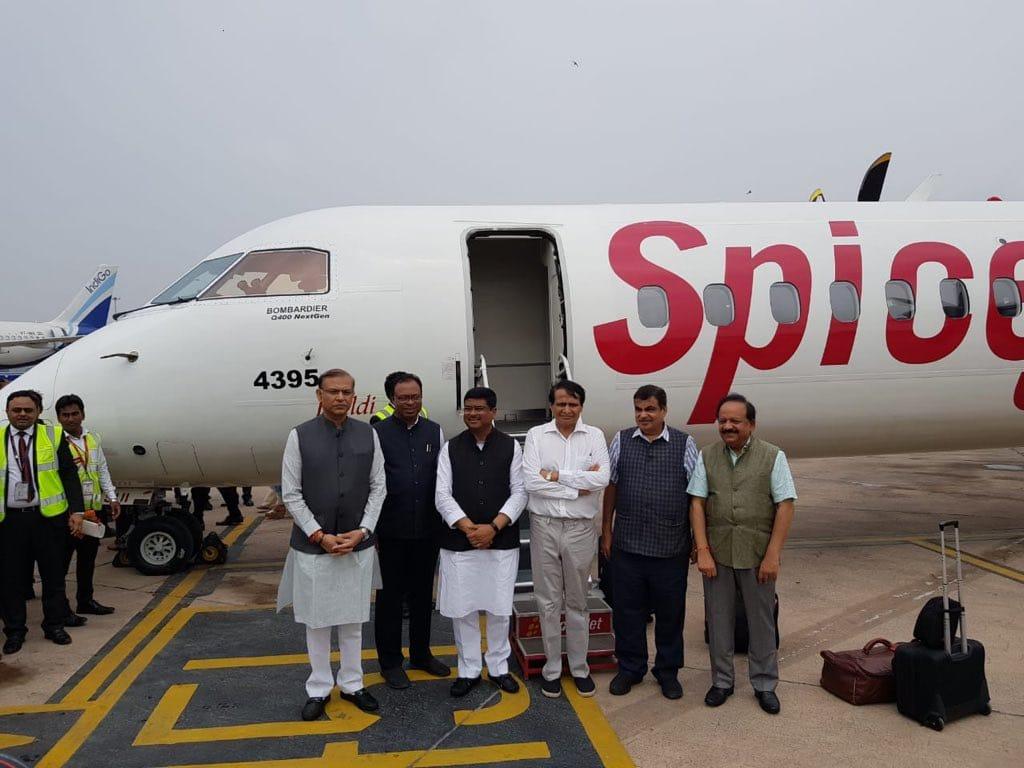 SpiceJet, fly, Bio-fuel, flight, Dehradun, Delhi, Business, NewsMobile, Mobile News, India