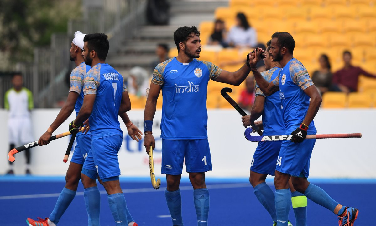 Asiad 2018, India, thrash, Sri Lanka, 20-0, mens, hockey, semi final, Asian Games 2018, NewsMobile, Mobile News, India, Sports