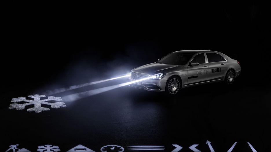 Auto, Car, Mercedes Benz, Maybach, Geneva, Headlights, Car Safety, Innovation, Technology