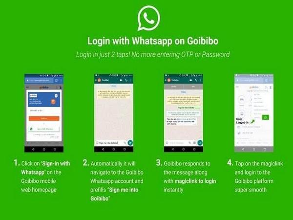 Goibibo, enable, users, login, WhatsApp, Newsmobile, Start up, Start o Sphere, NewsMobile, Mobile News, India