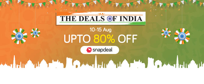 Snapdeal, celebrates, I-day, spirit, Deals India, NewsMobile, Mobile News, India, Business