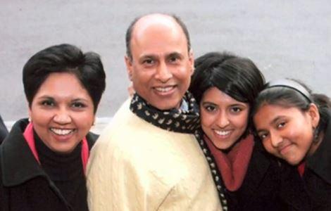 Her older sister is businesswoman and Grammy-nominated artist Chandrika  Krishnamurthy Tandon. ad16f023b3