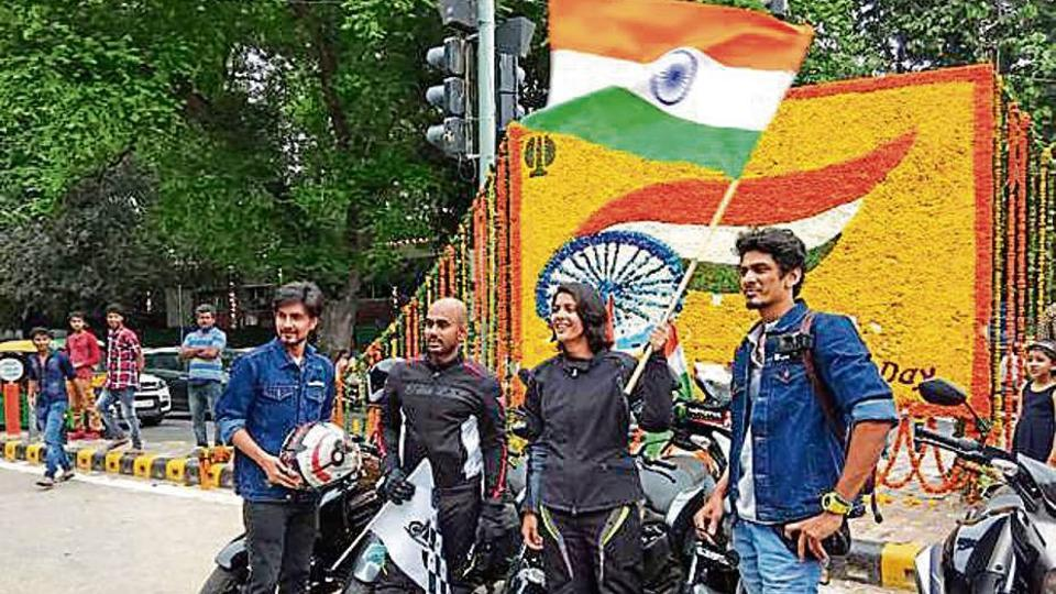2 NCR youth set out on a 4200 kilometres ride covering three nations