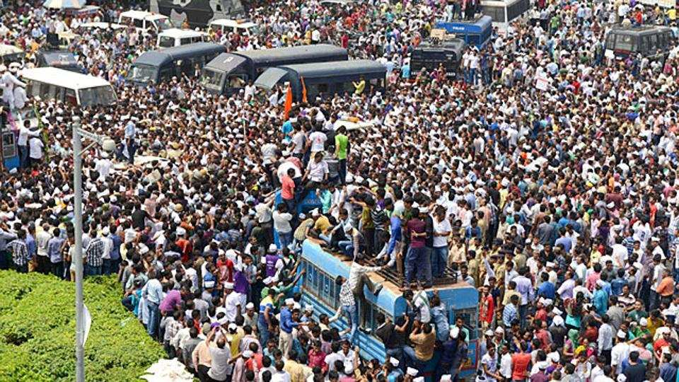 Population of India expected to overtake China by 2050