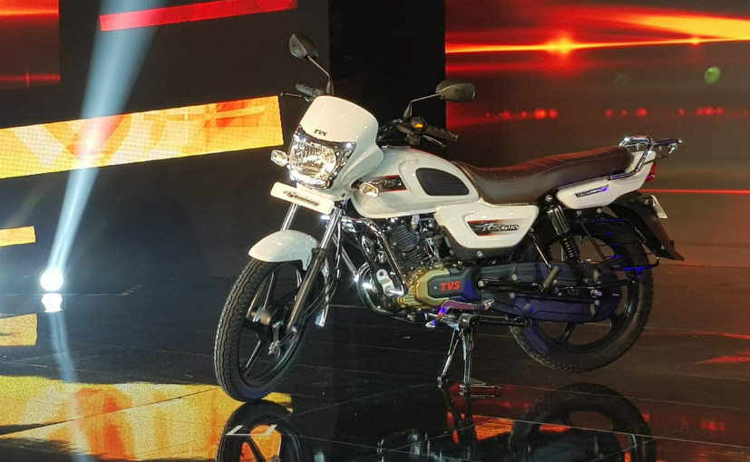 TVS launches TVS Radeon motorcycle