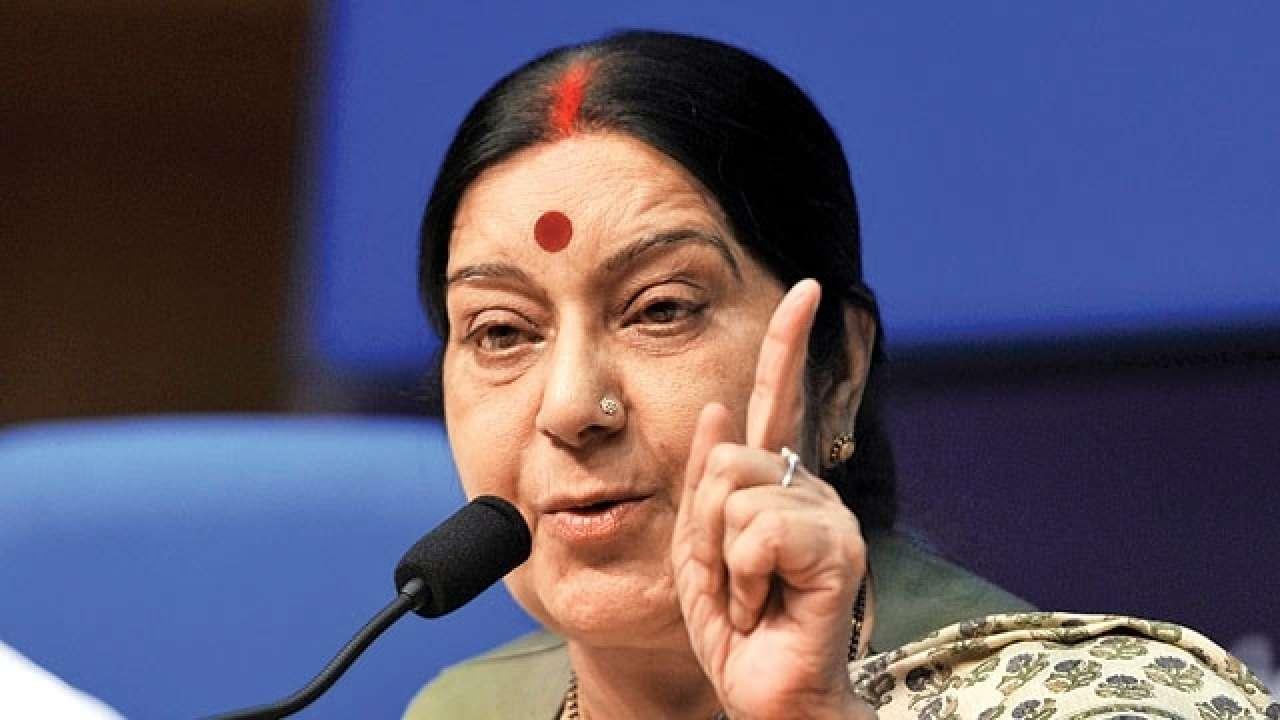 EAM, Sushma Swaraj, Controversy, Rafale, Deal, NewsMobile, Mobile, News, India, Rajya Sabha, Parliament