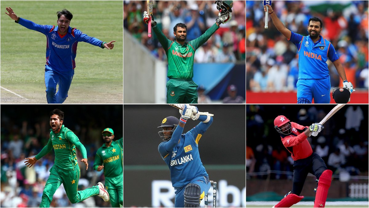 Asia cup, 2018, India, Pakistan, Bangladesh, Afghanistan, Hongkong, Sri Lanka, UAE, Cricket, NewsMobile, Mobile News, India