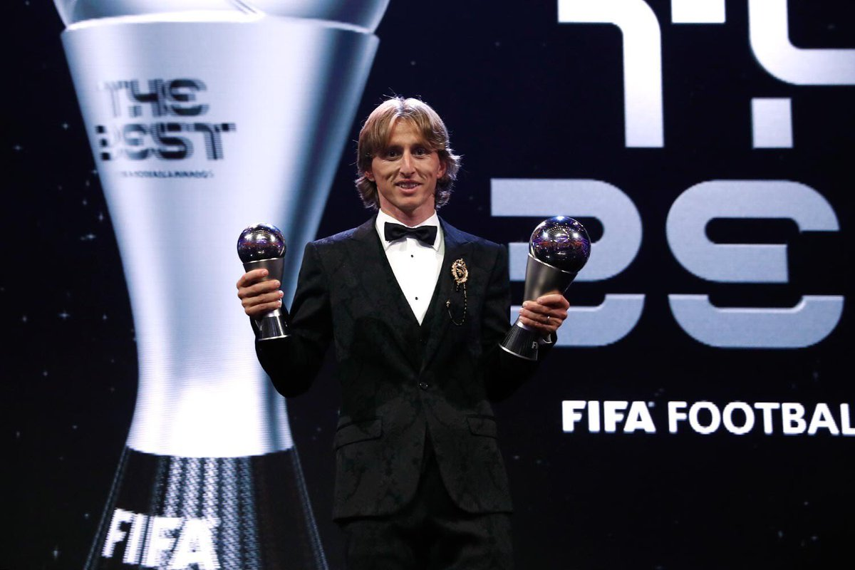 Luka Modrić, FIFA, men's player of the year, Messi, Ronaldo, Sports, Football, NewsMobile, Mobile News, India