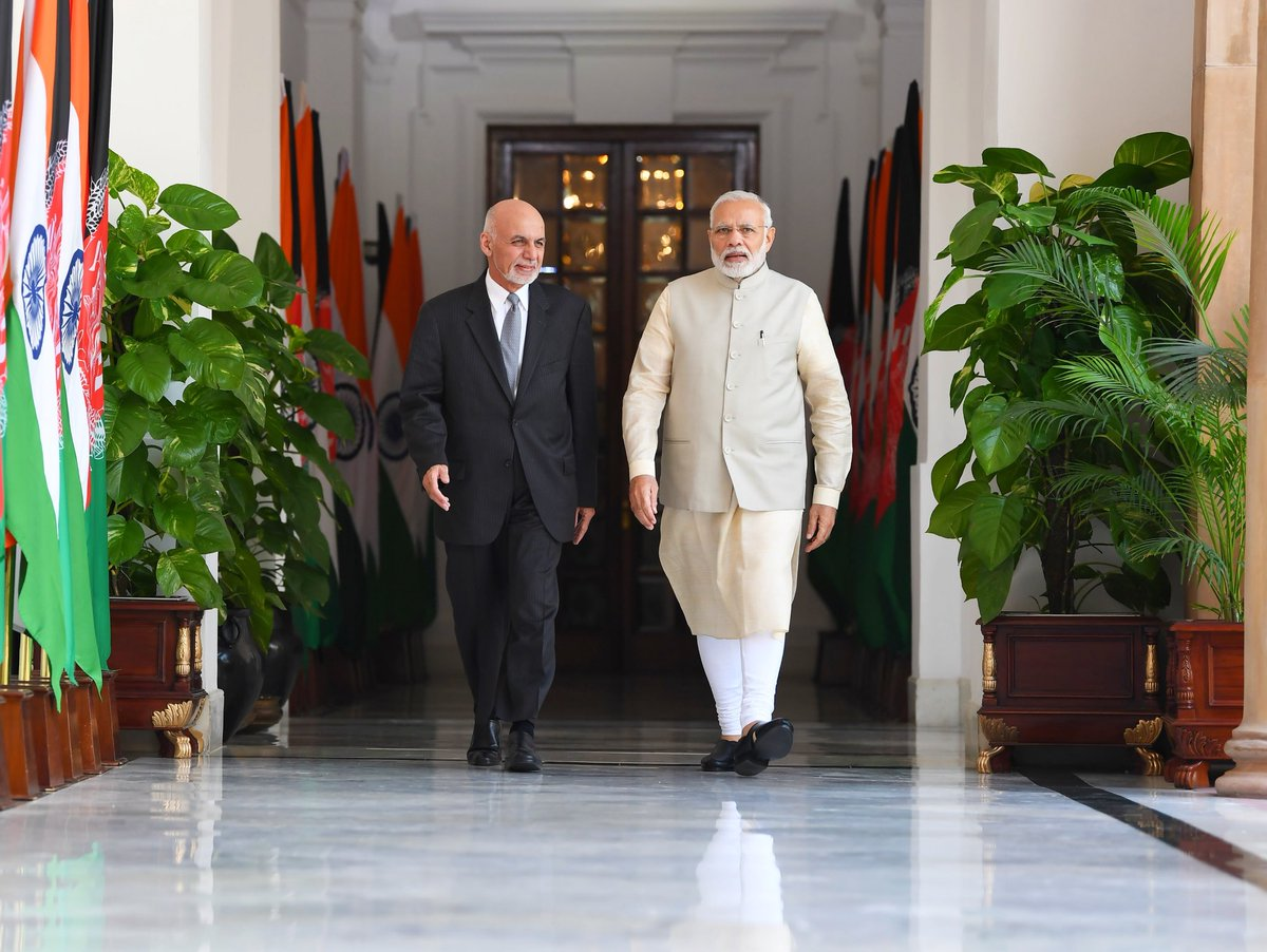 PM Modi, Afghanistan, President, Mohammad Ashraf Ghani, World, NewsMobile, Mobile News, India