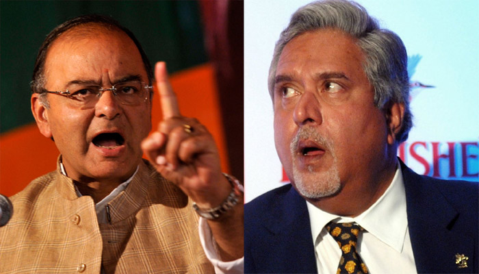 Vijay Mallya, met, Finance Minister, Arun Jaitley, fleeing, London, SBI, loan, Rs 9000 crore, NewsMobile, Mobile News, India