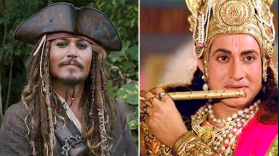 Pirates of The Caribbean, Jack Sparrow, character, inspired, lord Krishna, Ted Elliot, Johnny Depp, Writer, NewsMobile, Mobile News, India, Entertainment