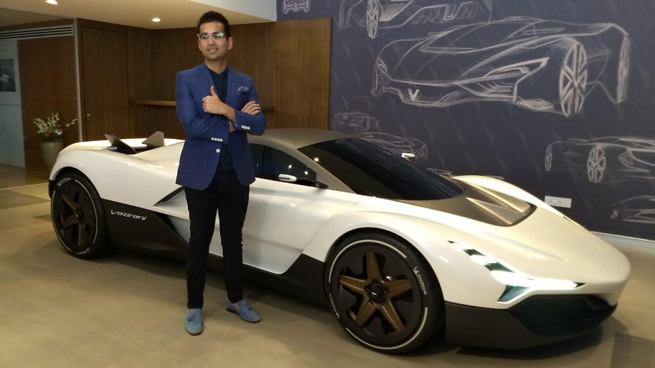 Vazirani Shul, electric hypercar, India, Mumbai, Goodwood Festival of Speed,NewsMobile, Mobile news India