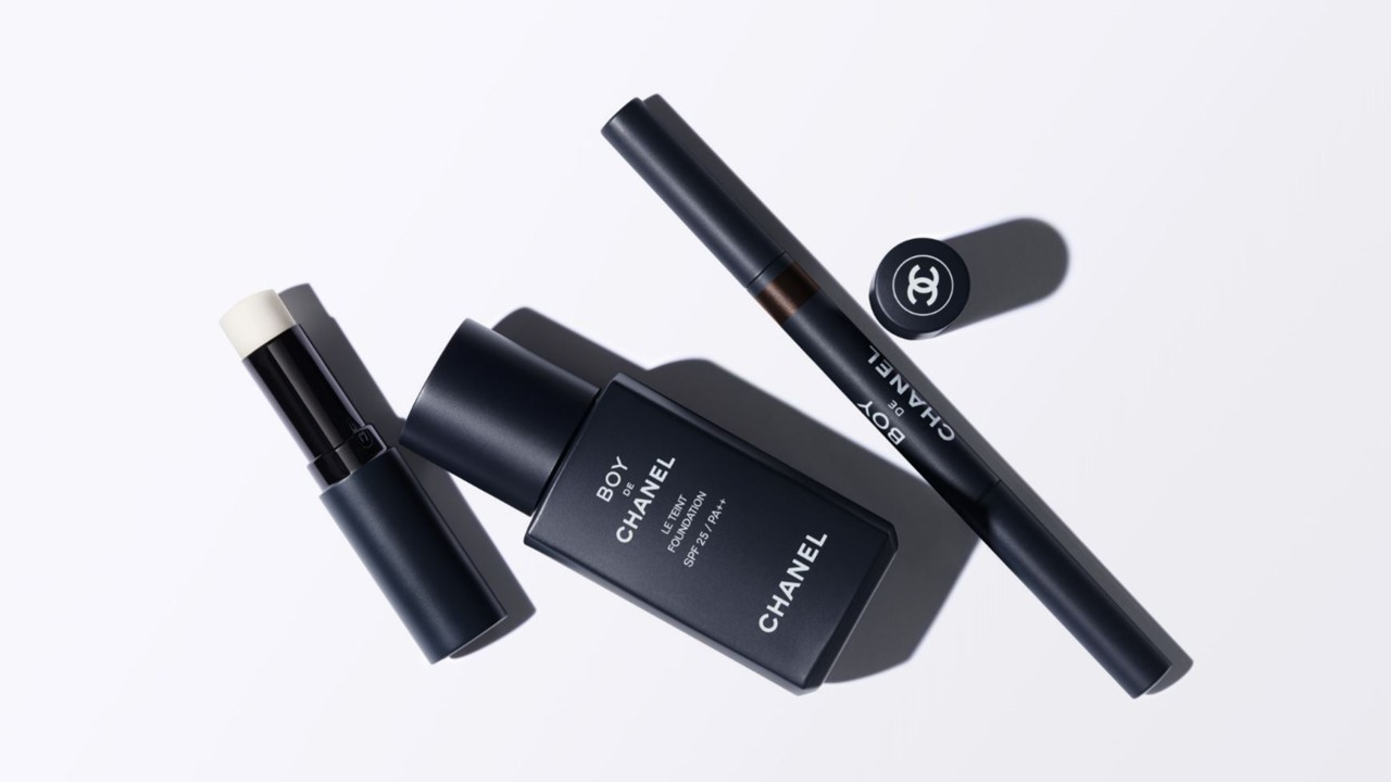 Chanel launches make up line for men