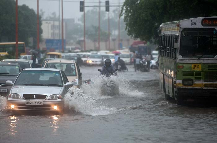 More rain showers expected in Delhi; flood alert in North-East