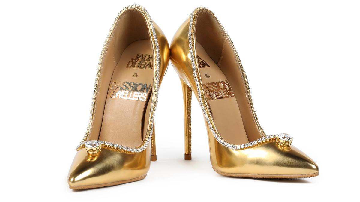 These shoes are for 123 crores, and we are not joking