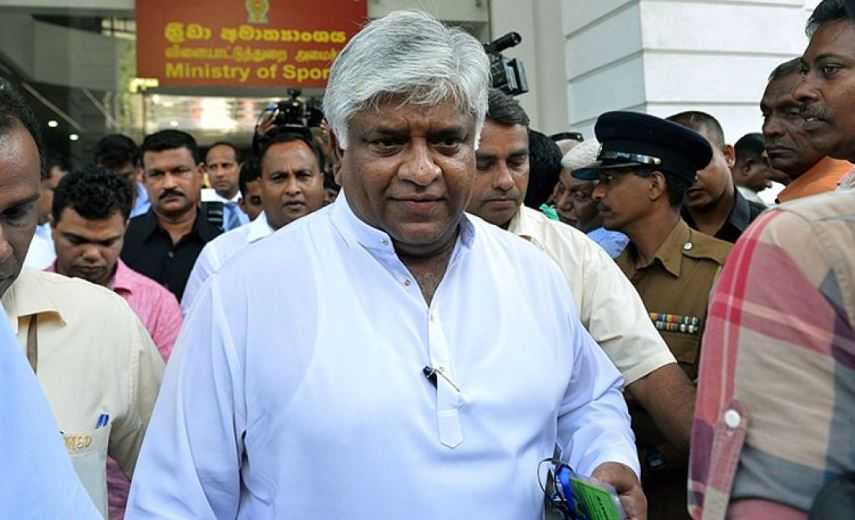 Sri Lanka, oil minister, Arjuna Ranatunga, arrested, shooting, NewsMobile, Mobile, News, India