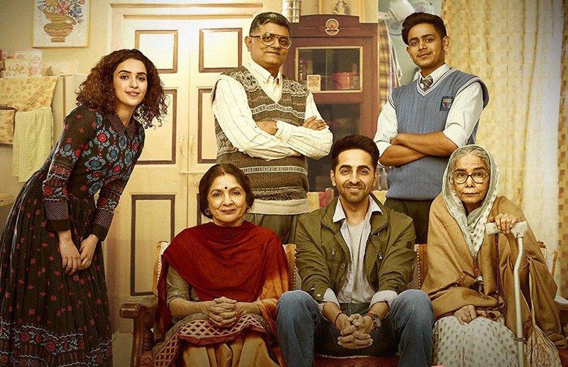 Badhaai Ho, Movie, Preview, NewsMobile, Mobile News, Entertainment, Bhavna Kant, Amit Sharma, Ayushman Khurana, Gajraj Rao, Neena Gupta, Sanya Malhotra