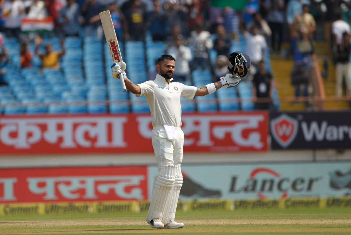 First Test, Virat Kohli, ton, crush, West Indies, Sports, Cricket, NewsMobile, Mobile News, India
