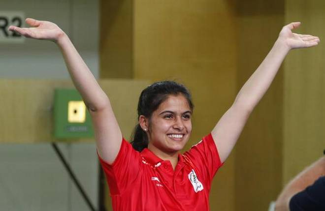 16-Year old, shooter, Manu Bhaker, first Indian, woman, win, gold, Youth Olympics, NewsMobile, Mobile News, Sports, India