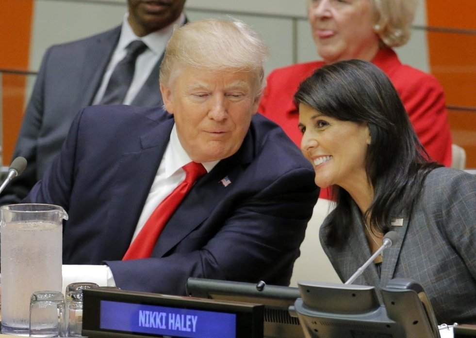 US Ambassador, UN, Nikki Haley, quits, President, Donald Trump, resignation, Resign, United States, NewsMobile, Mobile News, India