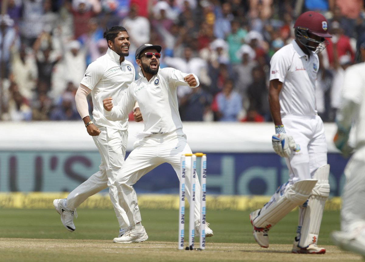 India, beat, Windies, 10-wicket, clinch, series, 2-0, West Indies, NewsMobile, Mobile News, Sports, Cricket