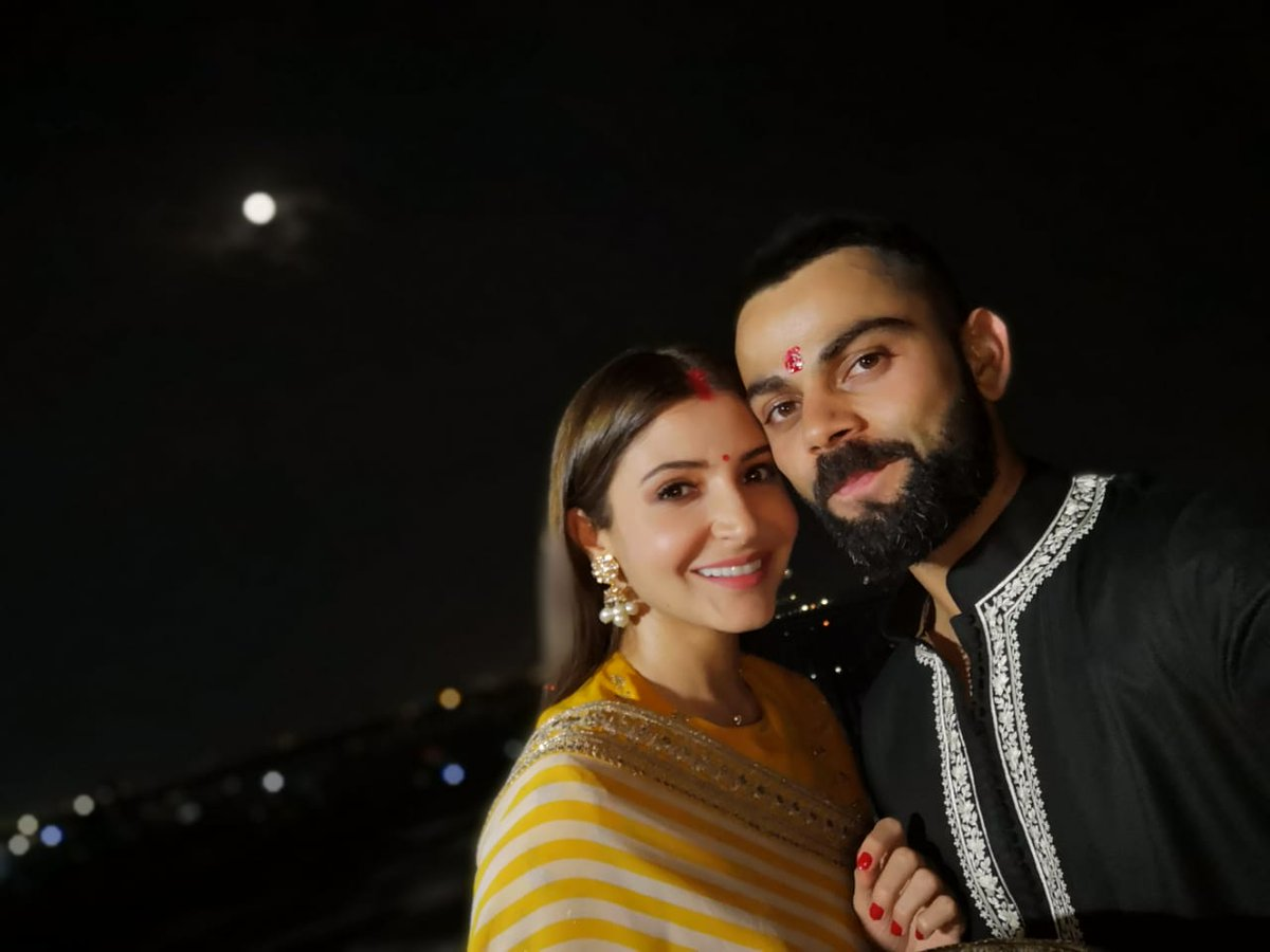 Virushka, Karwa Chauth, Fast, Anushka Sharma, Virat Kohli, NewsMobile, Mobile, News, Bollywood, Cricket, India
