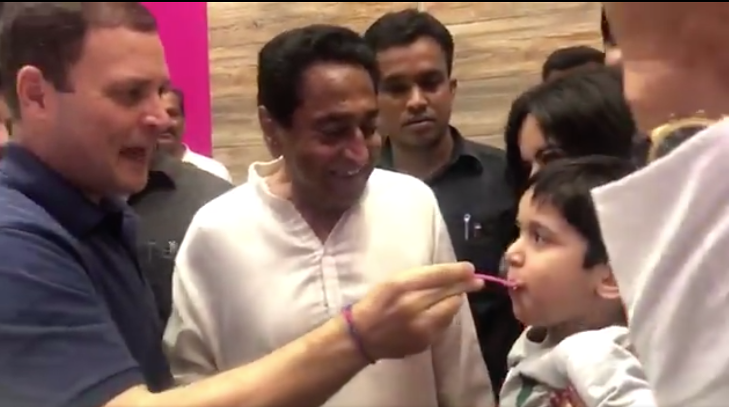 Indore, Ice Cream, Rahul Gandhi, Congress, Madhya Pradesh, NewsMobile, Mobile, News, India