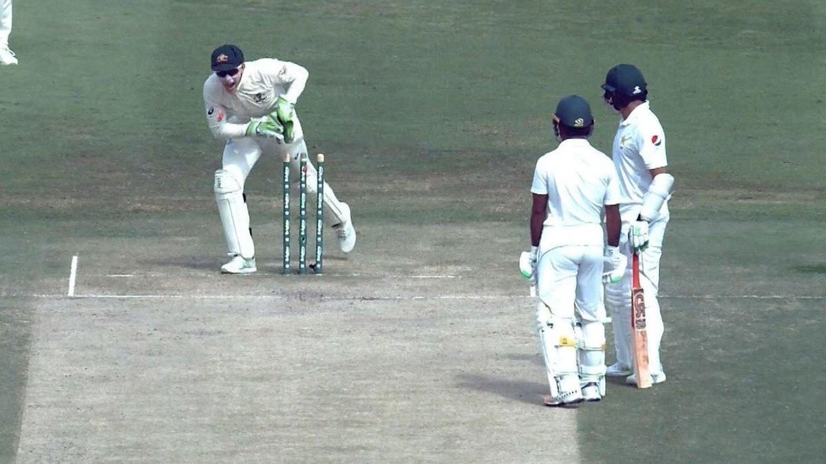 Pakistan, Video, runout, Cricket, Australia, Test NewsMobile, Mobile News, India, Sports