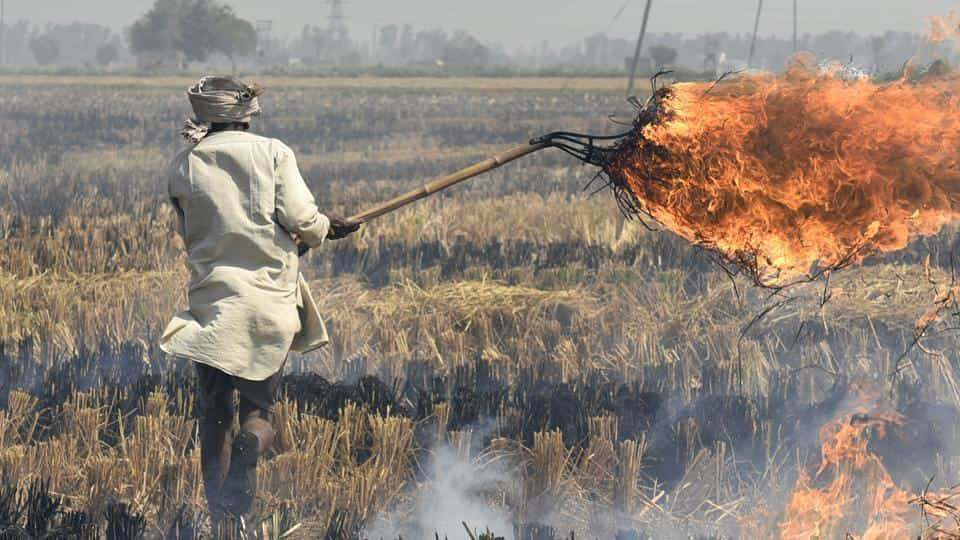 Delhi air quality index worsens as stubble burning starts in Punjab
